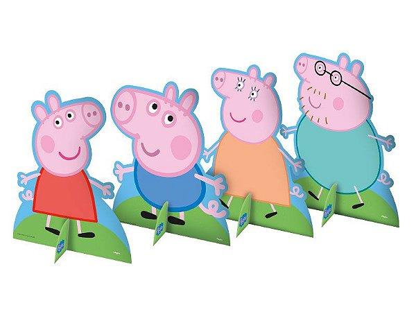 Decoração de Mesa Peppa Pig C/08