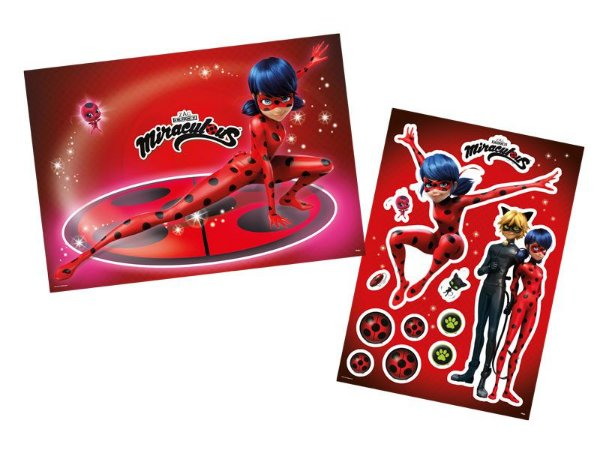 Kit Decorativo Miraculous Ladybug