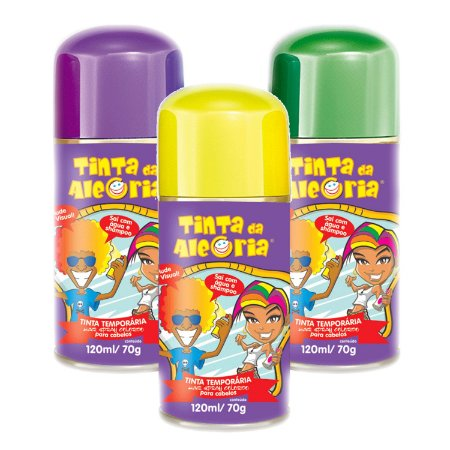 Tinta Para Cabelo Em Spray | 120ml
