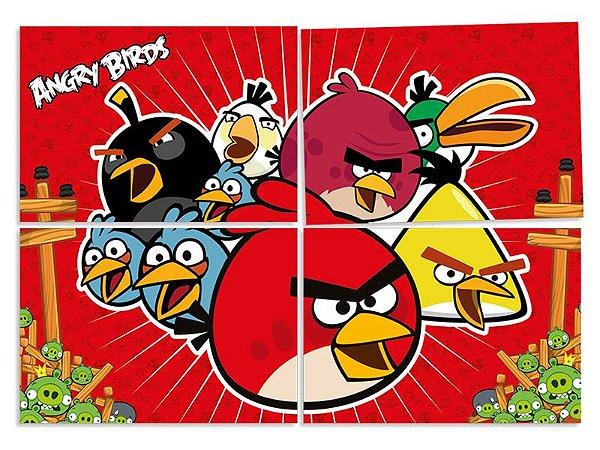 Painel decorativo festa Angry Birds