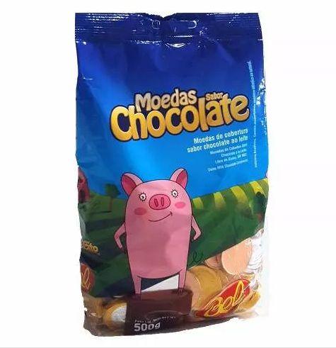 Moeda de chocolate 500g