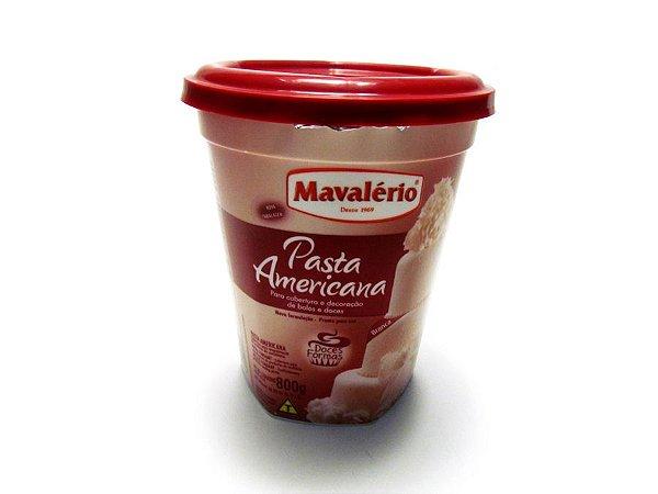 Pasta americana cobertura Mavalério 800g