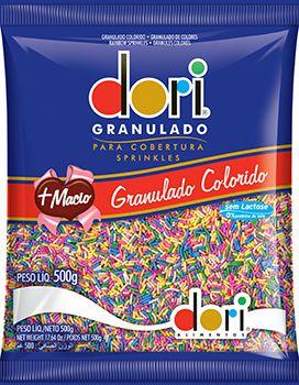 Granulado Colorido Macio Dori 500g