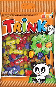 Bala Trink frutas diversas 400 g