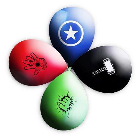 Balão / Bexiga Happy Day N11 Vingadores Sortido C/25