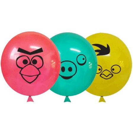 Balão / Bexiga Happy Day Nº11   Happy Birds   C/25