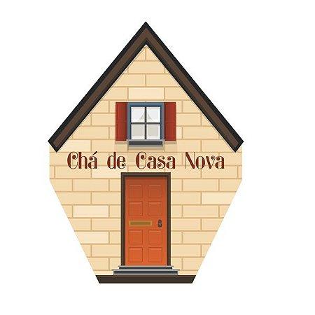 Convite Chá de Casa Nova C/8