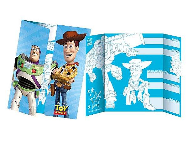 Convite festa aniversário Toy Story no espaço c/8
