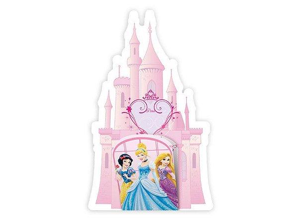 Convite de Festa de Aniversário Princesas Debut C/8
