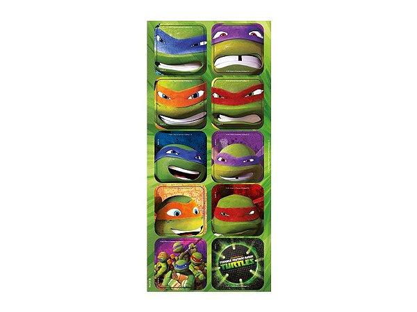 Adesivo Decorativo Tartarugas Ninja