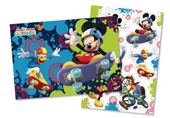 Kit Decorativo Mickey Radical
