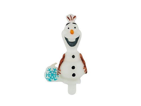 Vela De Aniversário 3D Frozen / Olaf