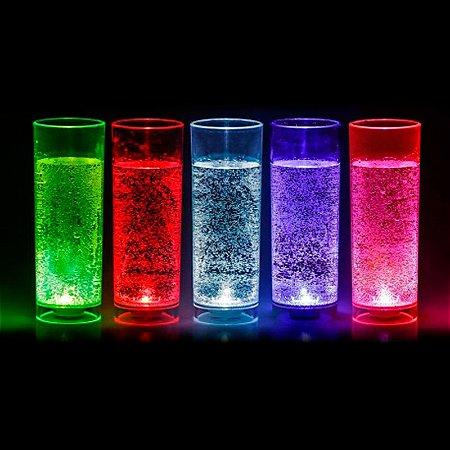 Copo long drink LED Automático - ativado com líquido 320 ml