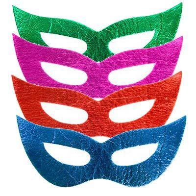 Máscara Holográfica Neon Formato Gatinha C/12
