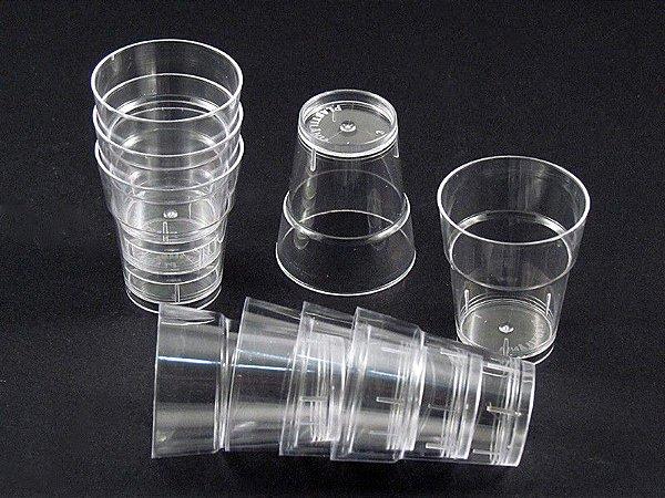 Copos p/ brigadeiro com 10 un e 25 ml