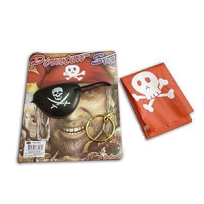 Kit Pirata C/ 3 Itens