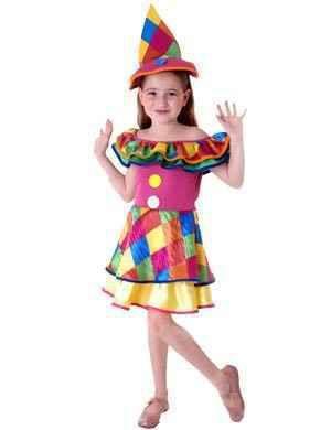 Fantasia De Carnaval Palhacinha Infantil G