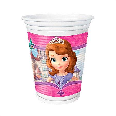 Copo Plástico Princesinha Sofia 200ml