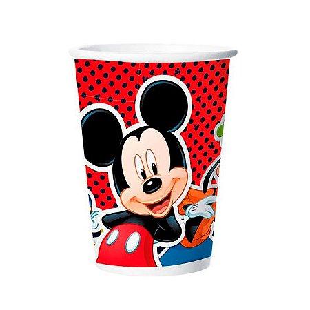 Copo Mickey De Papel 180ml