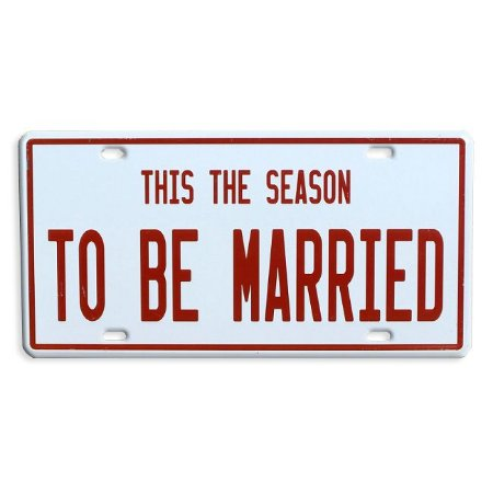 Placa Decorativa De Metal Para Casamentos