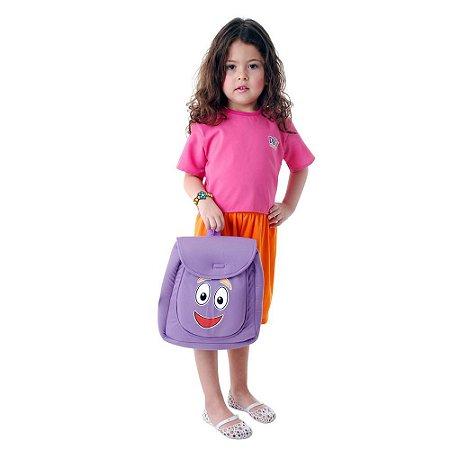 Fantasia Original Dora Aventureira Infantil M