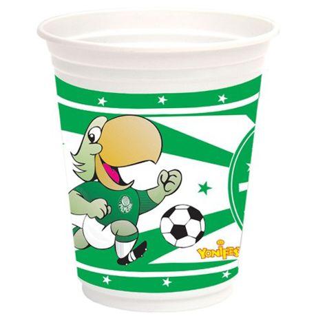 Copo Descartável Palmeiras C\08