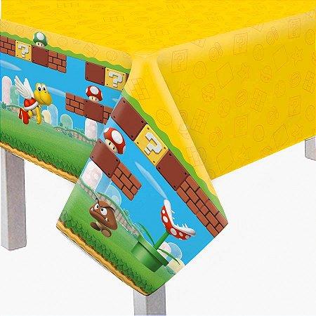 Toalha de Mesa Super Mario 1,18m x 1,80m