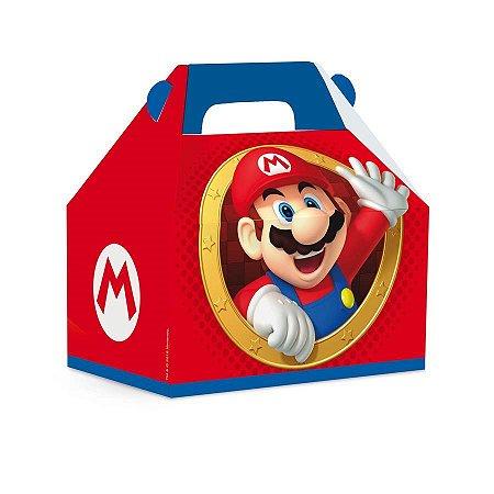 Caixa Maleta Kids Super Mario C/10