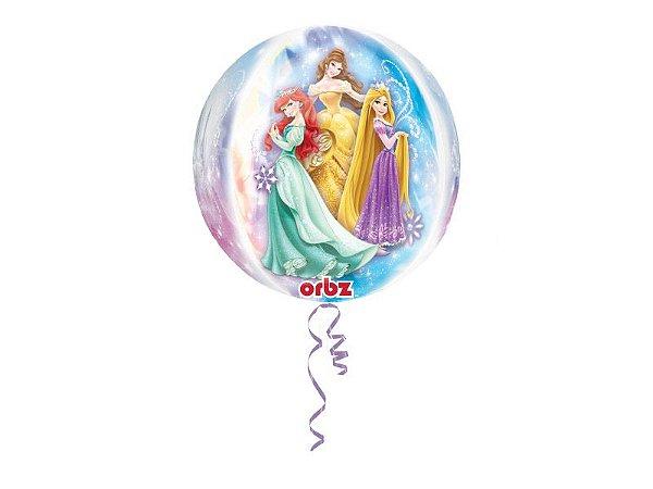 Balão Metalizado Bola Princesas