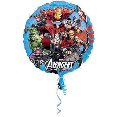 Balão Metalizado Standard Vingadores