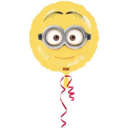 Balão Metalizado Standard Minion 18''