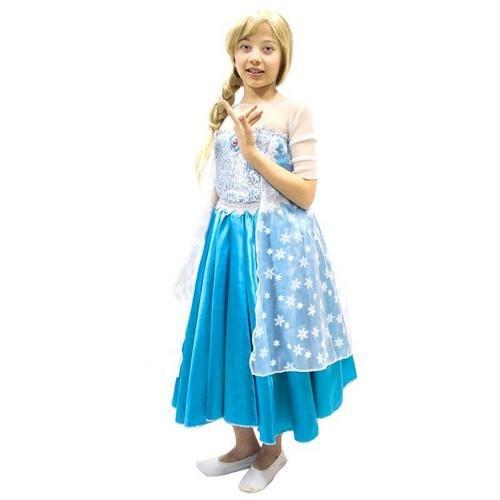 Fantasia Original Princesa Elsa Infantil G