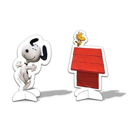 Decoração de mesa Snoopy. C/08