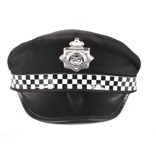 Quepe Policial P/ Fantasias