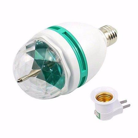 Lâmpada LED Giratória 3W