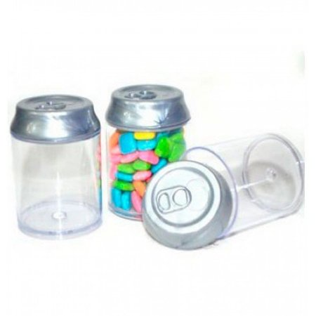 Lembrancinha Mini Latinhas de Refrigerante C/08