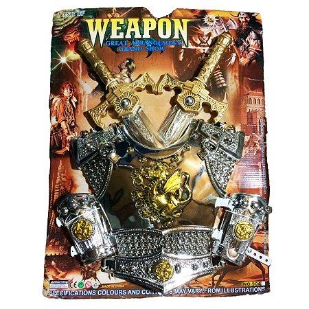 Kit Gladiador P/ Fantasia