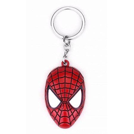 Chaveiro Mascara Homem Aranha