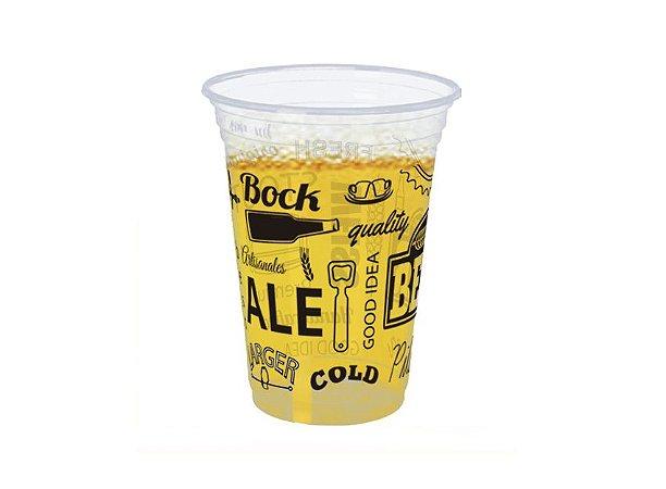 Copo Decorado Cerveja - 300mL C/30