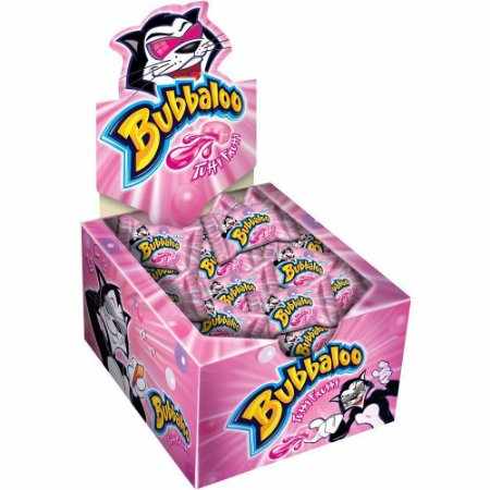 Chiclete Bubbaloo - CX 300g