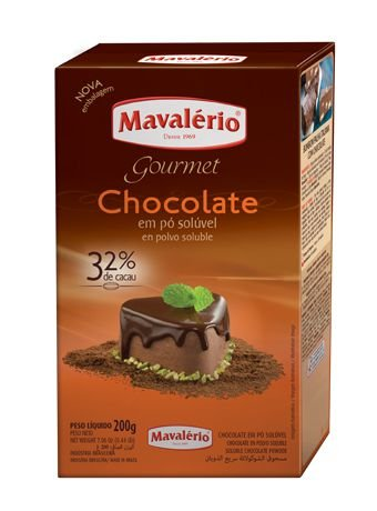 Chocolate Em Pó Solúvel 200g