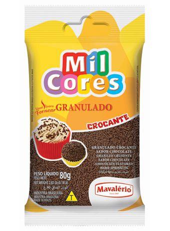 Granulado Crocante Mil Cores 80g