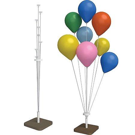 Suporte Para Balões Médio | 08 Varetas | 1,20m