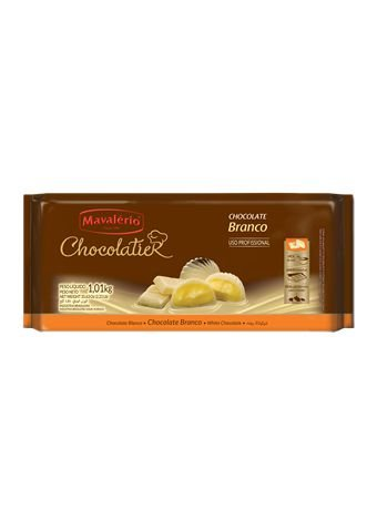 Chocolatier Barra Branco Mavalério 1Kg