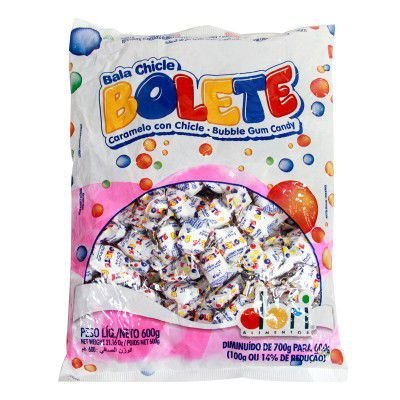 Bala Chicle Bolete Tutti-Fruti Dori | 600g