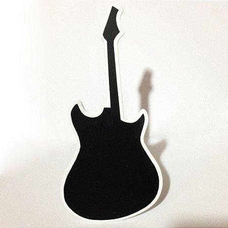 Placa Guitarra em Madeira