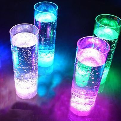 Copo Long Drink Com LED 320ml
