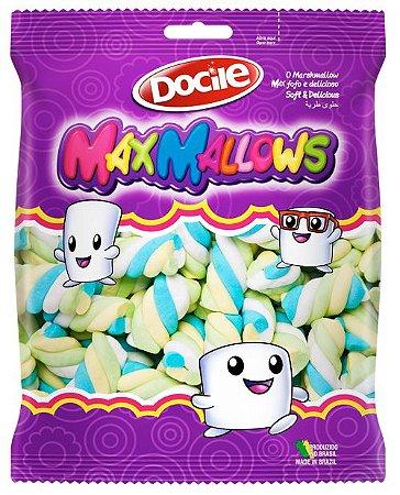Marshmallows Docile Torção Colorido 250g