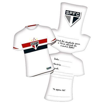 Convite de Aniversário São Paulo F.C.
