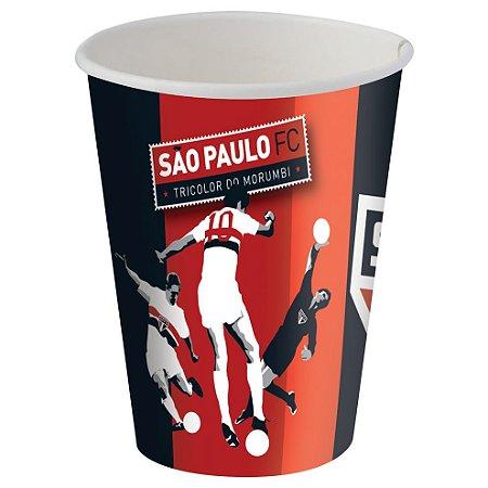 Copo Papel Descartável São Paulo F.C. 200ml C/8